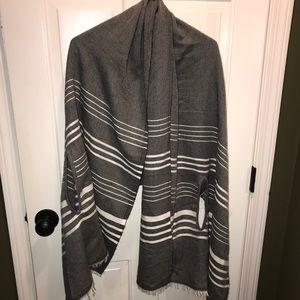 NWT J. Crew shawl/scarf